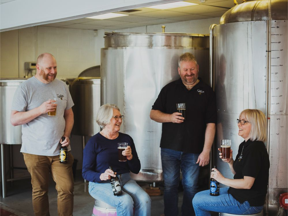 Tudor Brewery Team