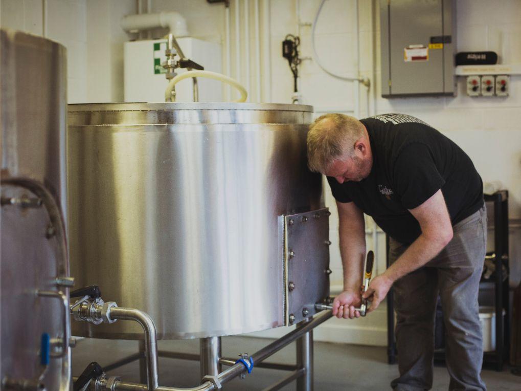 Tudor Brewery Mixing