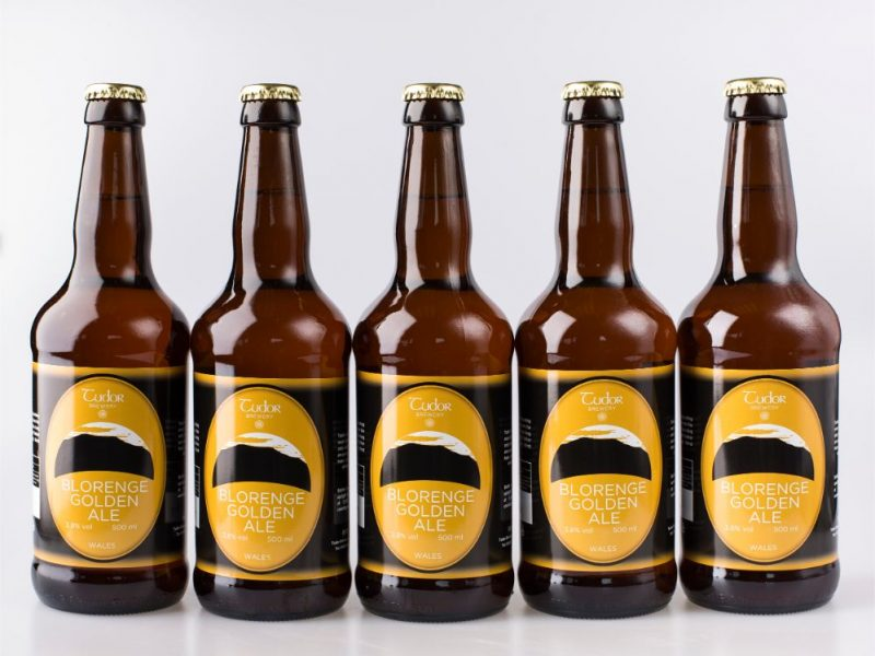 Tudor Brewery Blorenge Golden Ale Set