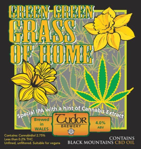 Tudor Brewery Green Green Grass IPA Guest
